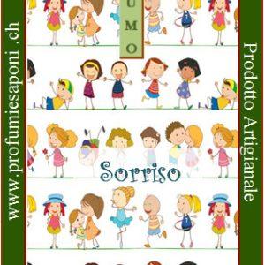 profumo naturale per bambini sorriso