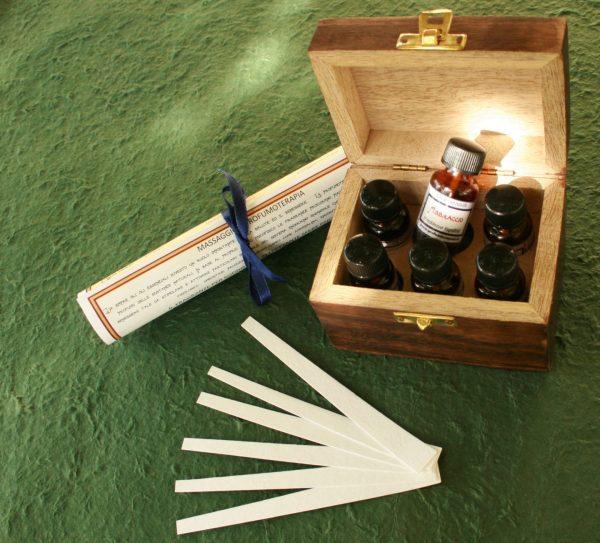 cofanetto olio massaggio