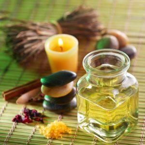 olio per massaggio sensuale