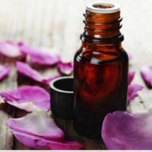olio da massaggio petali di rosa