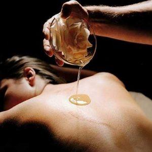 olio da massaggio relax